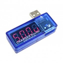 USB тестер волт и амперметър