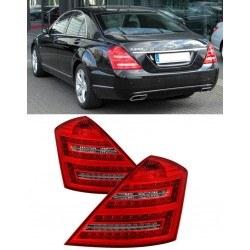 Диодни стопове за Mercedes W221 S-Class (2005-2011) - фейслифт дизайн