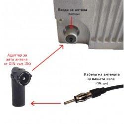 Адаптер за антена DIN към ISO