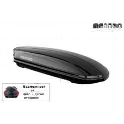 Автобокс багажник за таван MENABO MANIA DUO 460л