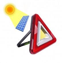 Аварийна лампа със соларно зареждане 2 в 1