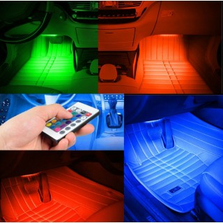 Интериорно осветление за кола LED RGB