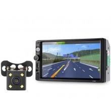 Мултимедия MP5 плейър с Bluetooth  и камера за паркиране