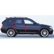 Хромирани капачки за дръжки на BMW X5 E53