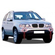 Хромирани капачки за халогени на BMW X5 E53