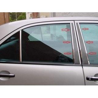 Карбонови лайсни за колоните на вратите на MERCEDES W210