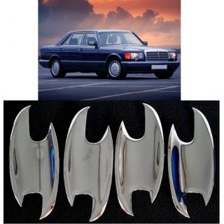 Хромирани капачки за дръжки на MERCEDES W126
