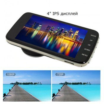 Видеорегистратор с камера за паркиране Full HD DVR на 24V