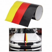 Германско знаме стикер за кола на метър