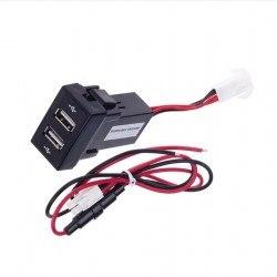 USB зарядно за два телефона за вграждане в таблото на PEUGEOT 307