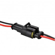 Водоустойчив електрически конектор 2 пина