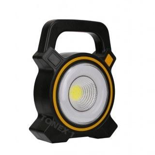 Акумулаторна LED лампа работна лампа със соларен панел