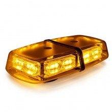Аварийна сигнална LED лампа 12V оранжева