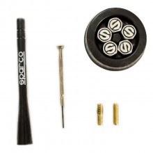 Капачки за вентили и накрайник пръчка за антена SPARCO