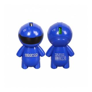 Зарядно за кола SPARCO Quick Charge 3.0, USB зарядно с 2 порта 12/24V
