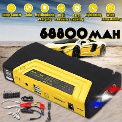 Мултифункционално стартерно зарядно устройство с компресор за гуми