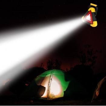 Соларна аварийна лампа 2 в 1