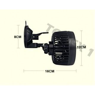 Вентилатор за автомобили, бусове, каравани и др. 15см, 12V, 24V