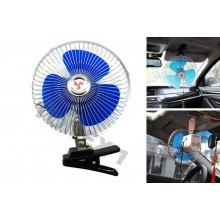 Вентилатор за автомобили, бусове, каравани и др. 30см, 15см  12V