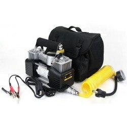 Компресор за гуми за джип и SUV 4X4 15 Psi 12V двубутален 55л/мин