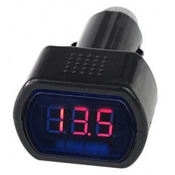 Дигитален волтметър за кола с цифри