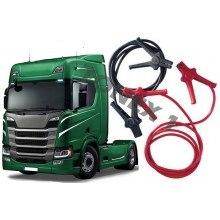 Кабели за подаване на ток на камион 12/24V