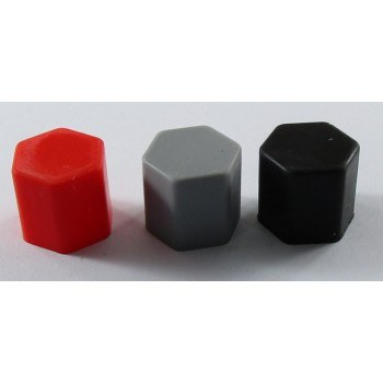 Декоративни капачки за болтове силиконови цветни
