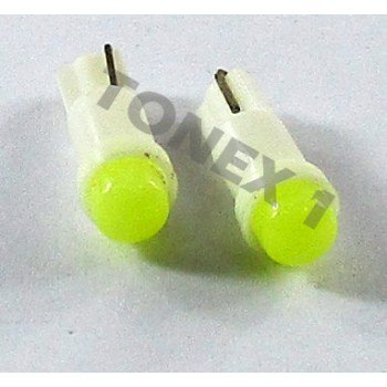 Диодна крушка (LED крушка) 24V, W1.2W, T5, W2x6.4d, блистер 2бр.