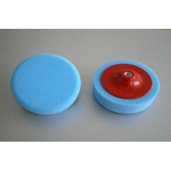 Гъба за полиране с диск синя