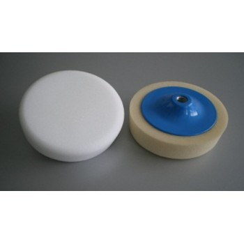 Гъба за полиране с диск бяла
