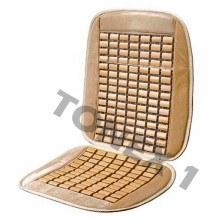 Седалка масажна бамбук + велур