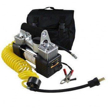 Компресор за гуми за джип и SUV 4X4 10 bar 12V двубутален 85л/мин