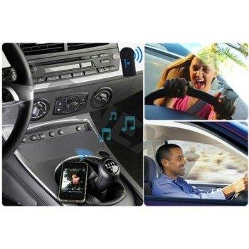Блутут хендсфри, аудио ресивър за автомобил със стерео жак 3.5мм
