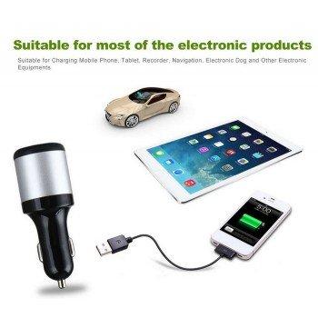 Зарядно за кола USB и волтметър 12 / 24V