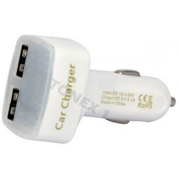 Зарядно за кола USB 12/24V 4 в 1