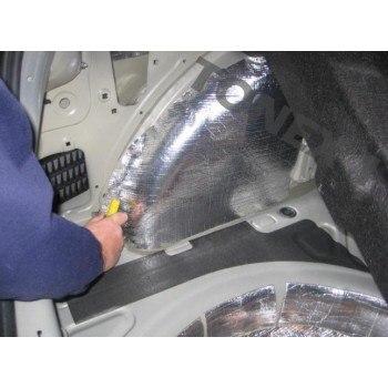 Шумоизолация за кола шумоизолиращо фолио подходящо за капаци и врати