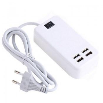 USB зарядно за телефон с 4 порта