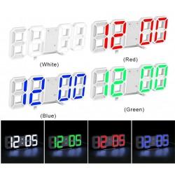 3D настолен часовник с аларма и термометър
