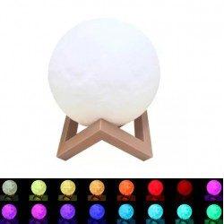 3D Лампа луна на батерии