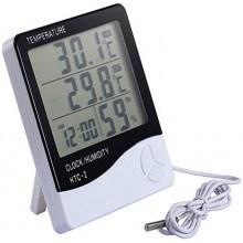 Електронен часовник с термометър