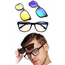 Слънчеви очила с поляризирани магнитни рамки 3 в 1