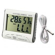 Настолен термометър с хигрометър