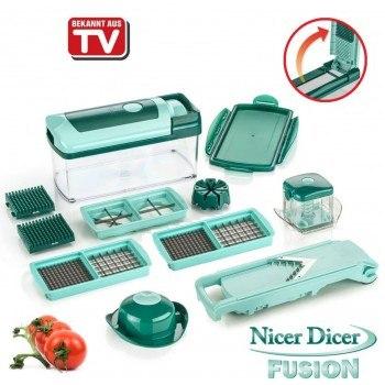 Кухненското ренде Nicer Dicer Fusion