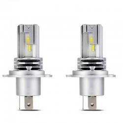 Диодна крушка (LED крушка) 12 / 24V, H4, P43T, блистер 2бр.