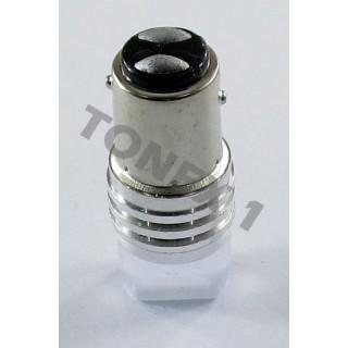 Диодна крушка (LED крушка) 12V, P21W/5W, BAY15d, мигаща