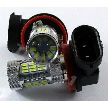 Диодна крушка (LED крушка) 12V, HB3 / 9005, P20d, блистер 2бр.
