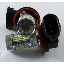 Диодна крушка (LED крушка) 12V, H11, PGJ19-2, блистер 2бр.