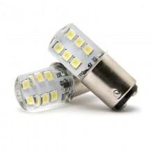 Диодна крушка (LED крушка) 12V, P21/5W, BAY15d, мигаща