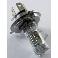 Диодна крушка (LED крушка) 12V, H4, P43T