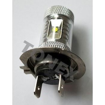 Диодна крушка (LED крушка) 12V, H7, PX26d, блистер 2бр.